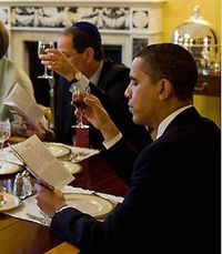 new words, new terms, neologisms, presidine, dining with president, Obama dining, Obama and Medvedev Get Burgers, Obama seder